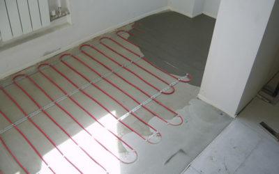 Теплый пол под ламинат: выбираем какой лучше положить + пример проведения работ