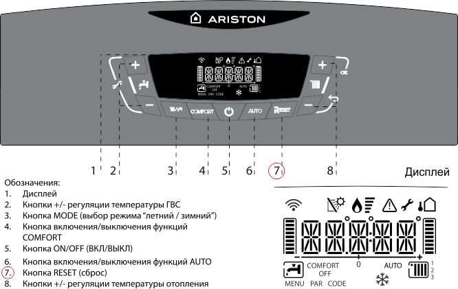 Устранение ошибки 607 на газовом котле ariston (аристон) - fixbroken.ru