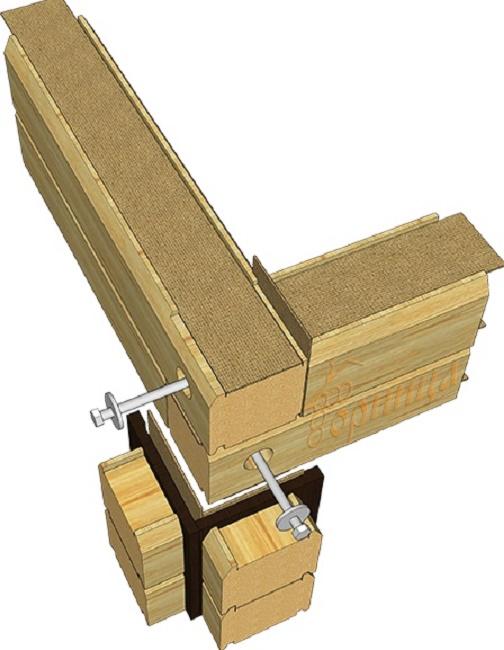 Теплый угол брусового дома (22 фото): что это такое, тонкости соединения бруса при строительстве, виды конструкций с остатком строения