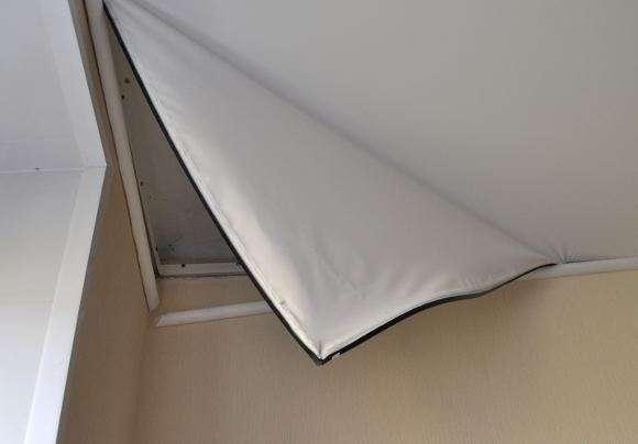 снятие натяжного потолка своими руками