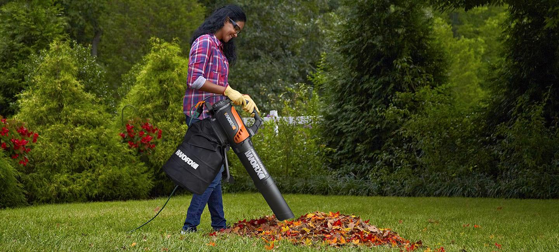 пылесос для листвы