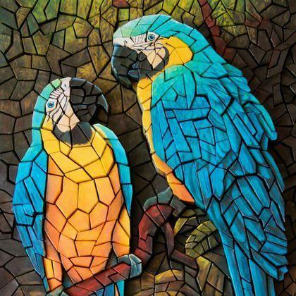 Мозаика — википедия. что такое мозаика