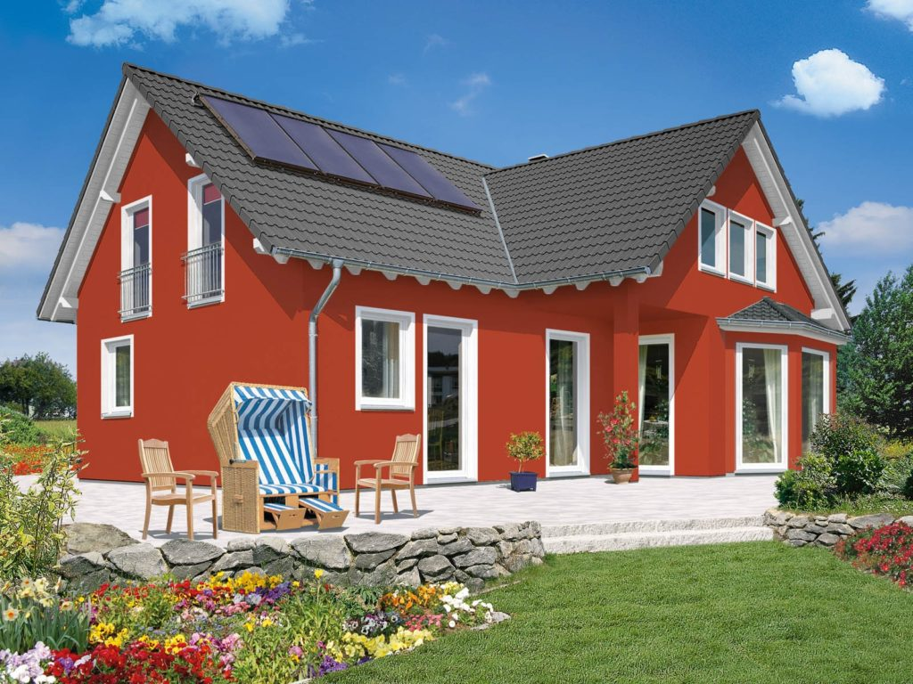 Сочетание цветов фасада дома и забора: 100+ вариантов