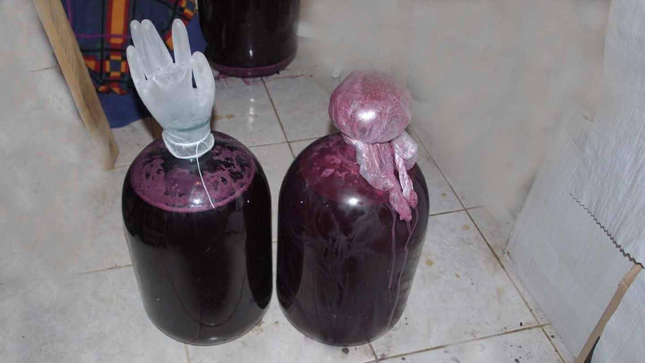 Рецепты получения вторичного вина из жмыха винограда