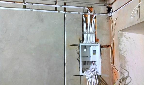 Разводка телевизионного кабеля по квартире