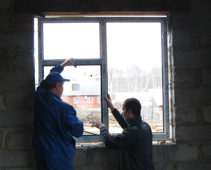 как поставить пластиковое окно своими руками