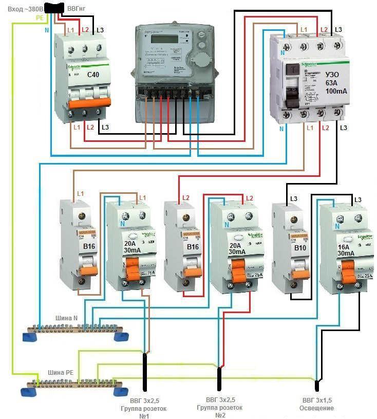 Как соединить автоматы в электрощите: обзор вариантов установки и подключения автоматов (фото-инструкция)