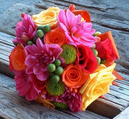 Букеты из живых цветов своими руками