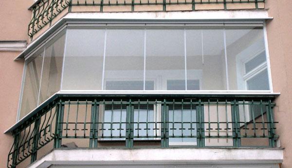 Безрамное остекление балконов, безрамные остекления лоджий, преимущества и недостатки остекления без рам