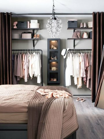 Шкафы-купе в спальню: разновидности, советы по выбору и установке