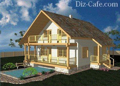Проекты недорогих загородных домов эконом класса: планировки, строительство в москве