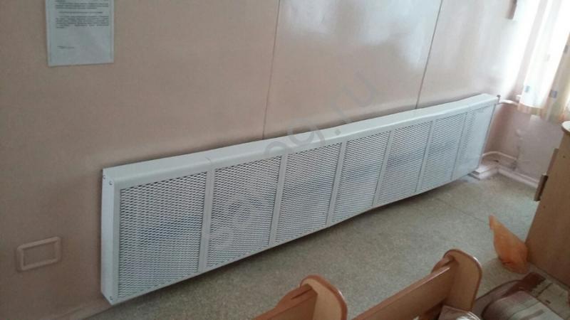 защитный экран для радиатора отопления