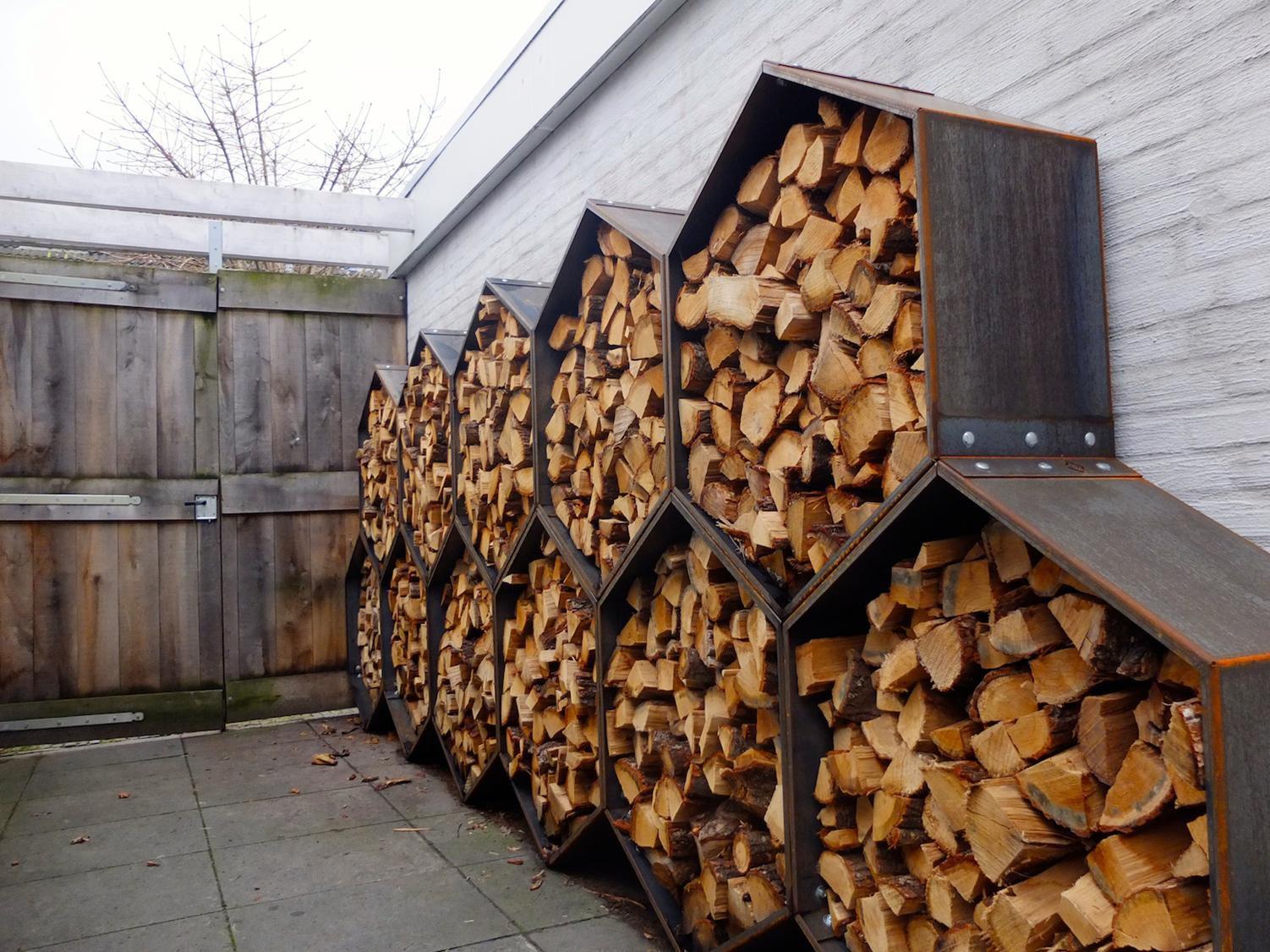 как правильно складывать дрова в поленницу