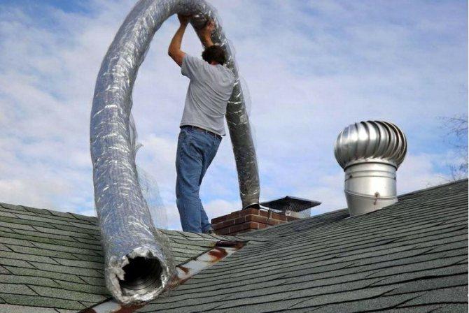 Как правильно утеплить трубу дымохода своими руками