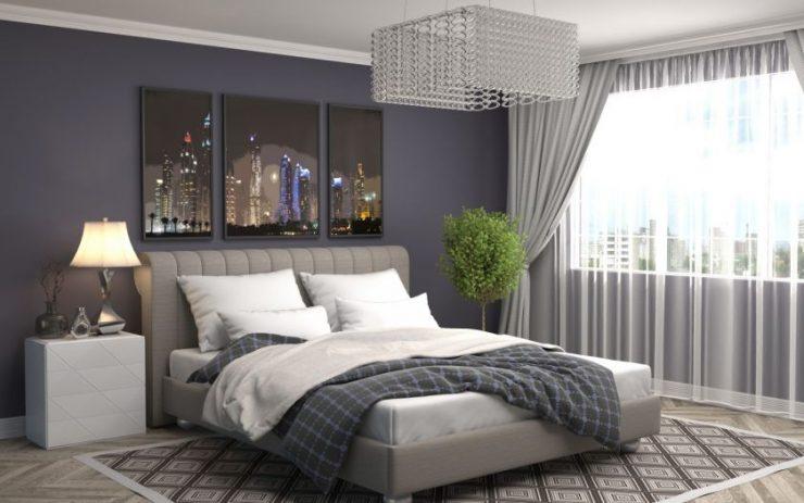 Люстры в спальню: современные идеи + 45 фото