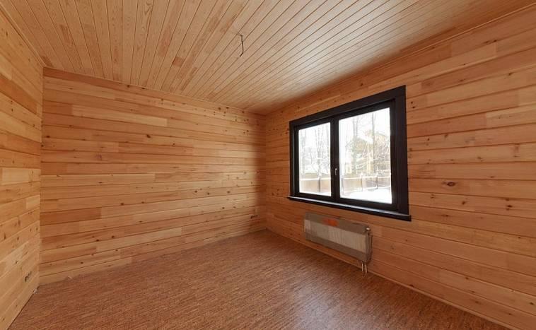 Внутренняя и внешняя отделка дома из оцилиндрованного бревна