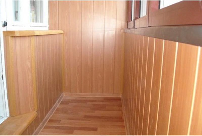 Отделка балкона мдф панелями своими руками - как обшить правильно