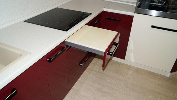 Как сделать столик из остатка кухонной столешницы?