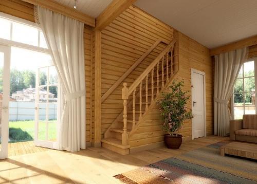 Дизайн лестницы: виды, материалы +75 фото в интерьере