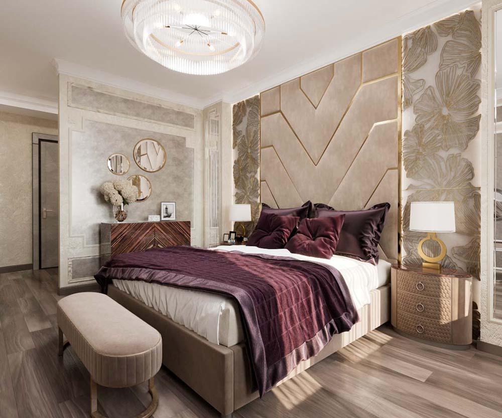 мебель для спальни в современном стиле фото