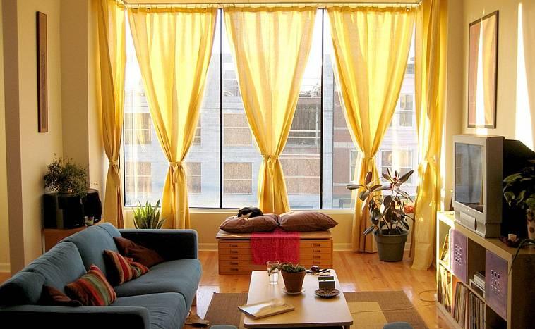 51 идея оформления штор в белом интерьере - арт интерьер