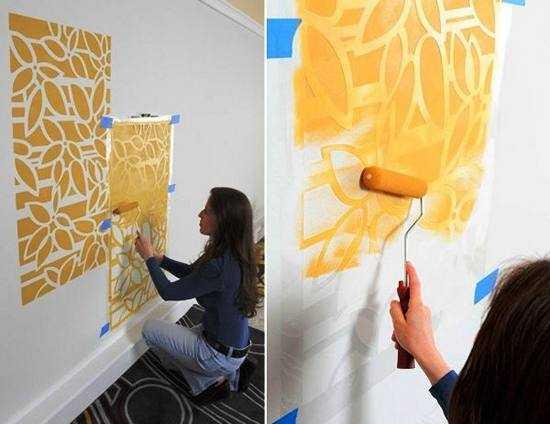 Декорирование и отделка стен тканью +75 фото идей