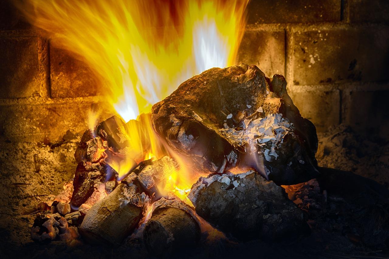 печка камин