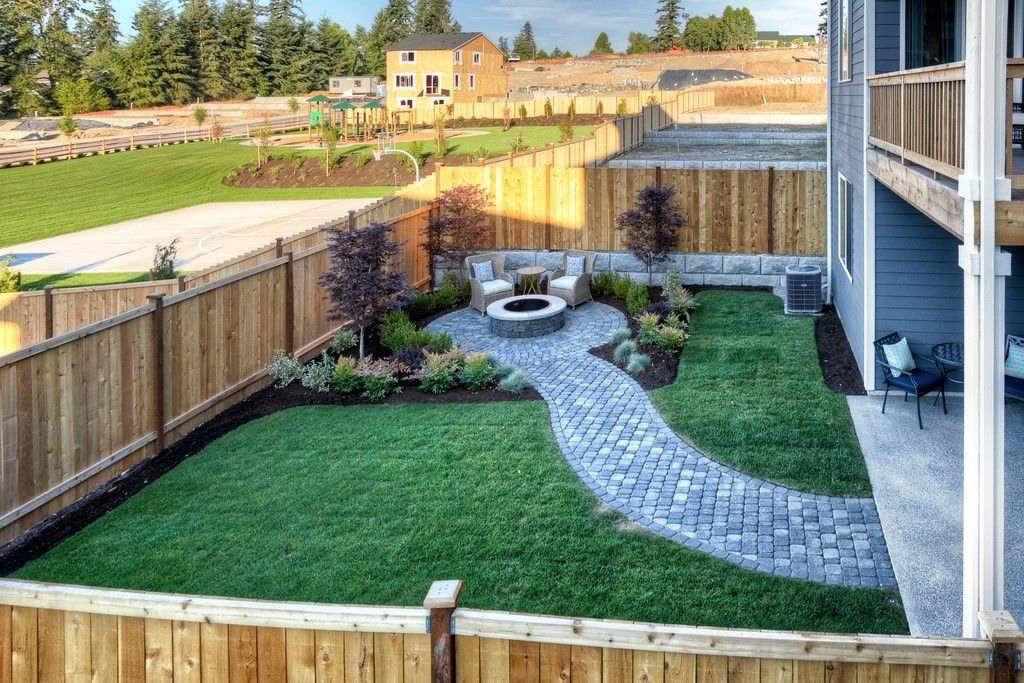 Дизайн участка загородного дома - готовые идеи и актуальные проекты как оформить дизайн дома правильно (125 фото)