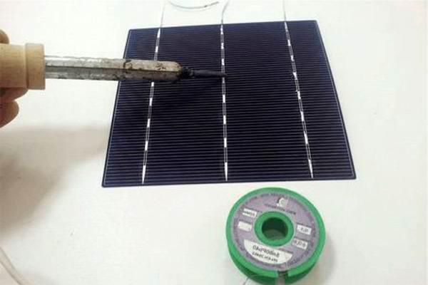 солнечные батареи для дома своими руками