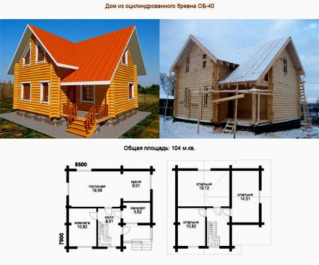 за сколько можно построить дом 100 м2