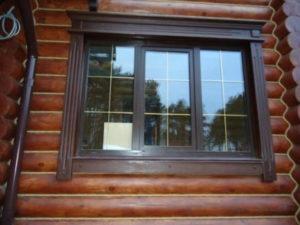 Резные наличники на окна в деревянном доме