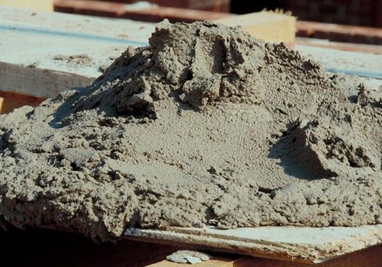 сухая цементно песчаная смесь