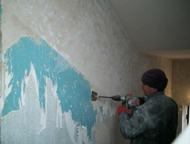 Чем удалить старую краску со стен своими руками: быстрые способы для снятия