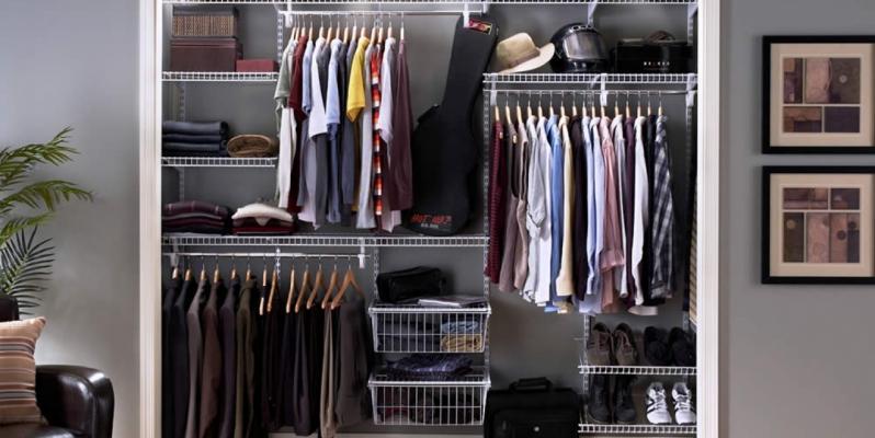 Гардеробная комната (50 фото): идеи дизайна, как обустроить в спальне или кладовке