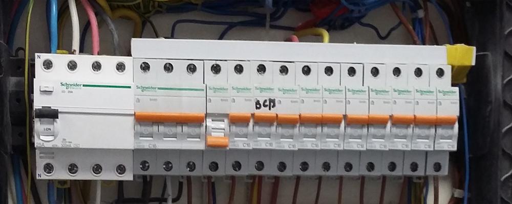 Как заменить пробки на автоматические выключатели