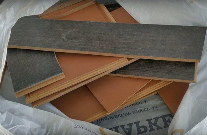 Где можно применить остатки ламината - самстрой - строительство, дизайн, архитектура.