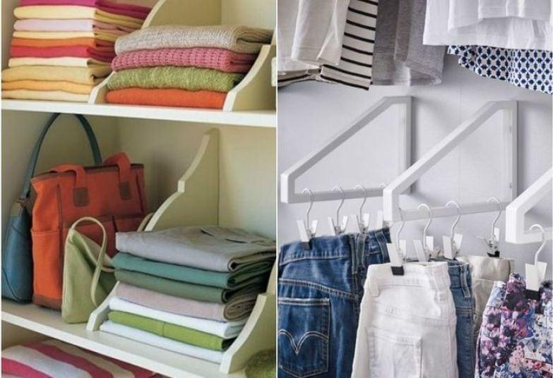 организация хранения в шкафу