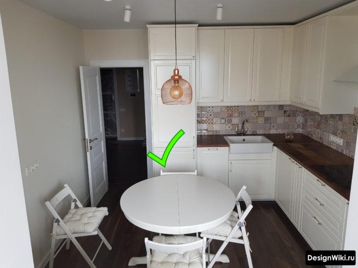 Отделка стен на кухне – фото вариантов ремонта стен на кухне различными отделочными материалами