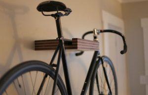 Как повесить велосипед на стену: советы по хранению
