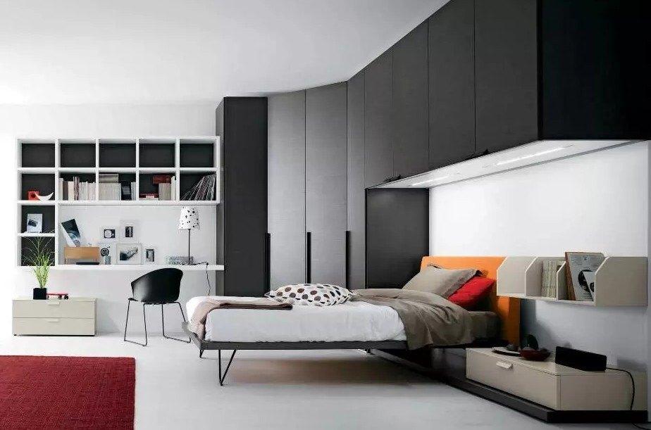 Угловой шкаф в спальню: идеи, дизайн и размеры, интерьер маленькой спальни с угловым шкафом