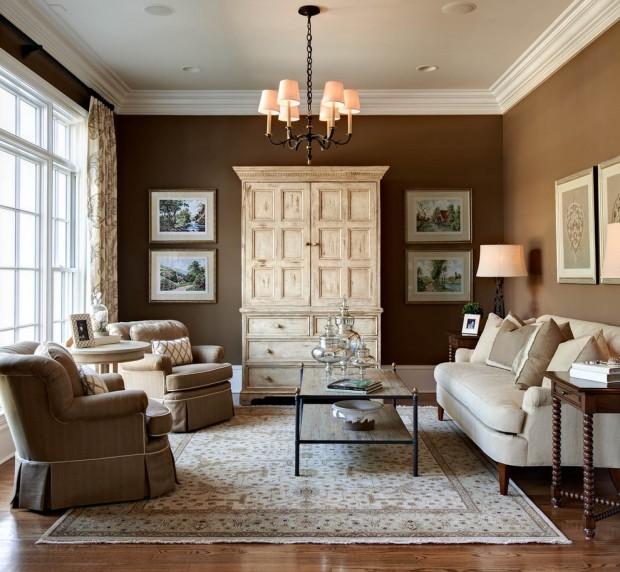 Коричневая мебель – 110 фото идей дизайна интерьера и обзор оттенков коричневого