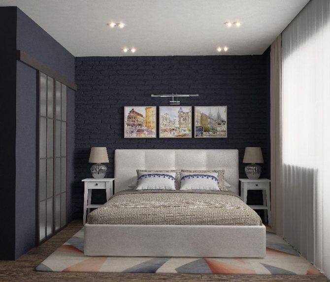 Ковер в спальне: 10 модных моделей и их удачное расположение (49 фото) | дизайн и интерьер