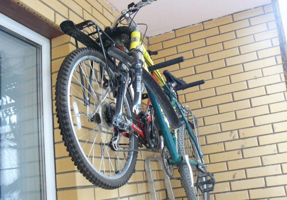 Как хранить свой велосипед дома? | веложурнал