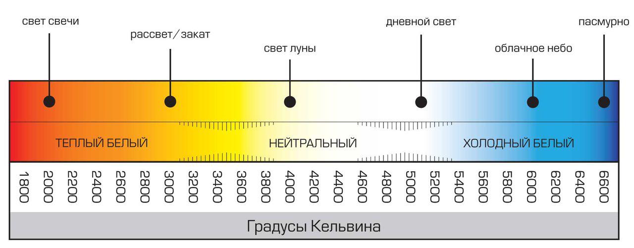 Какой свет лучше теплый или холодный | 1posvetu.ru