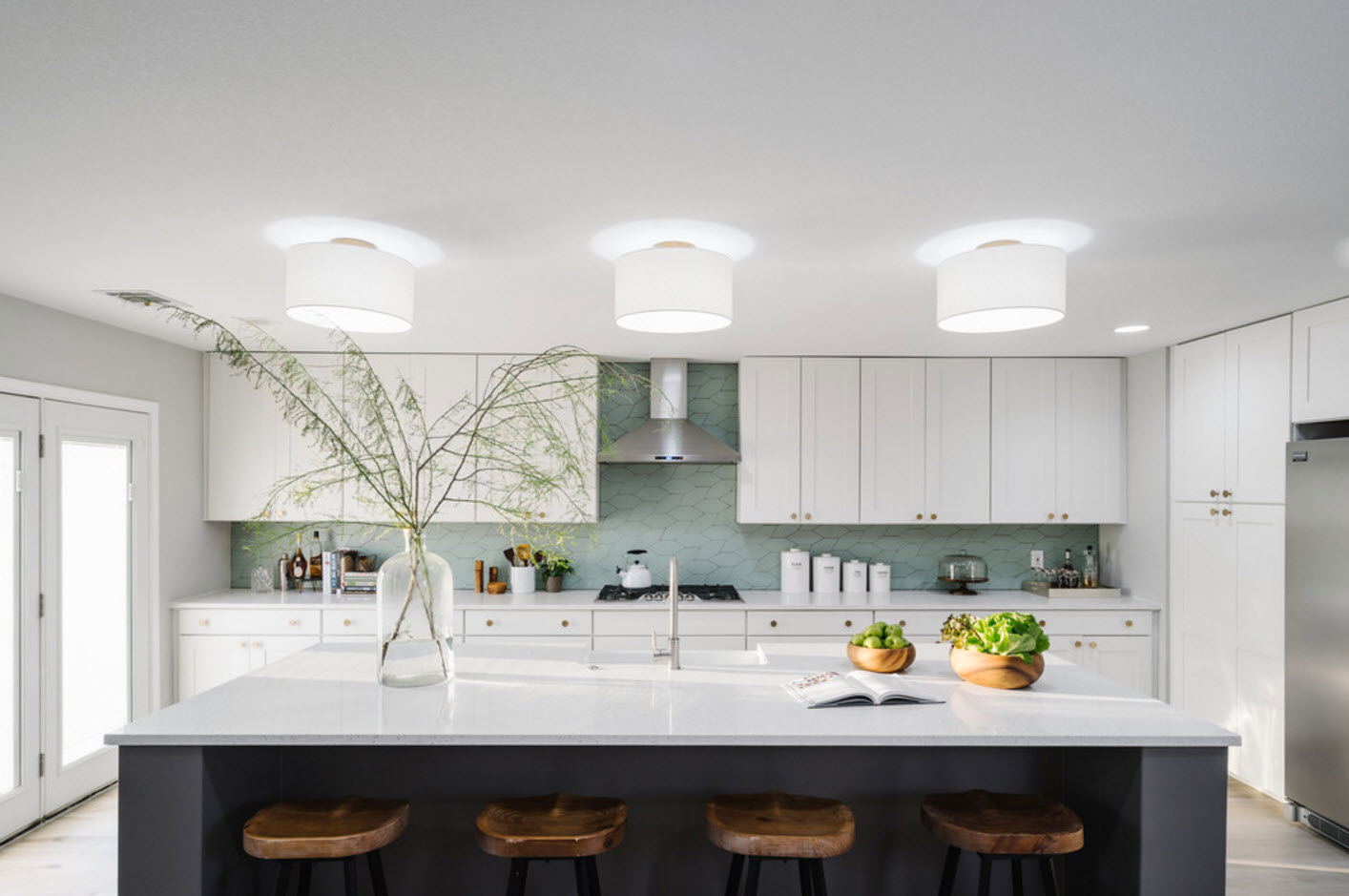 Гостиная-столовая: дизайн столовой в частном доме и квартире, фото идей