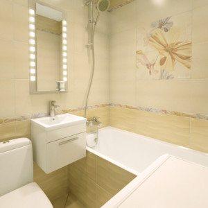 Ванная комната в хрущевке: дизайнерские решения, фото, компактность