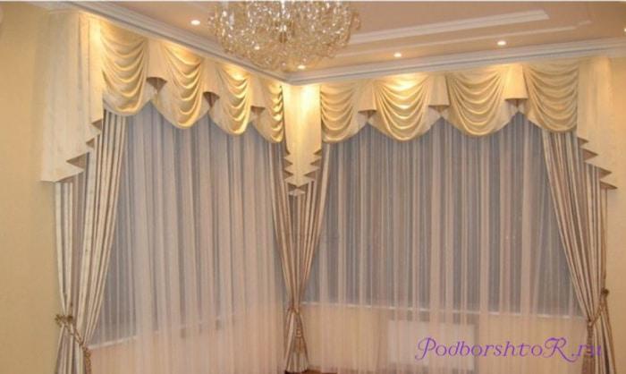 плотные шторы в зал
