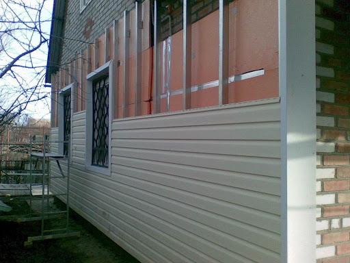 Утепление дома снаружи сайдингом - как сделать утепление под сайдинг