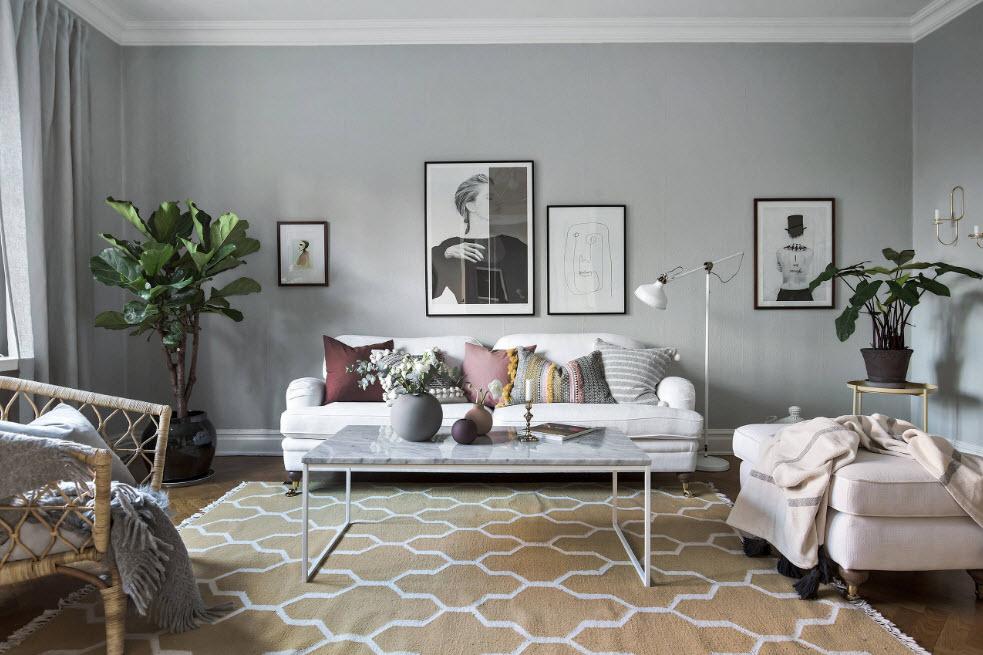 мебель в зал в современном стиле фото