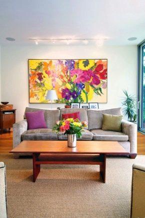 Постеры и картины для интерьера в дизайне разных направлений